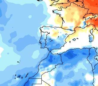 31 mar 14 ncep cfsr europe t2m anom - Spagna e Nord Africa: le zone fredde del Marzo 2014.