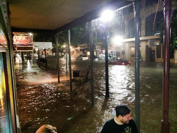 30 apr 14 pensacola - Storiche inondazioni in Florida