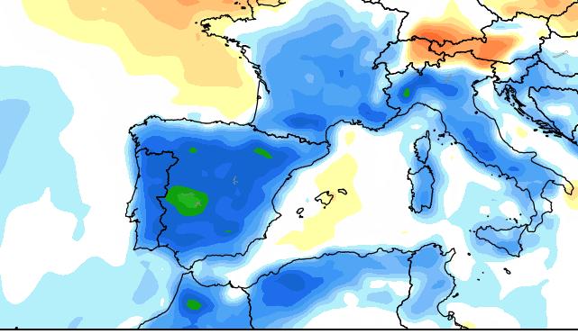 23 lug 14 ncep cfsv2 120 t2anom europe - Le anomalie globali delle prime due decadi del mese
