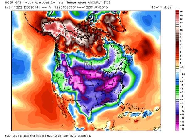21 dic 14 B5ZdDT2IQAA PKS - Gennaio 2014: mese di poco più freddo del 2007, ma molto più piovoso e nevoso