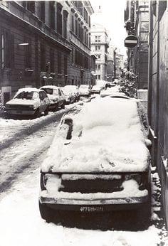 5e657075ffb6498c87ea1fa820c473f3 - Foto storica nevicata Gennaio 1985 su Roma