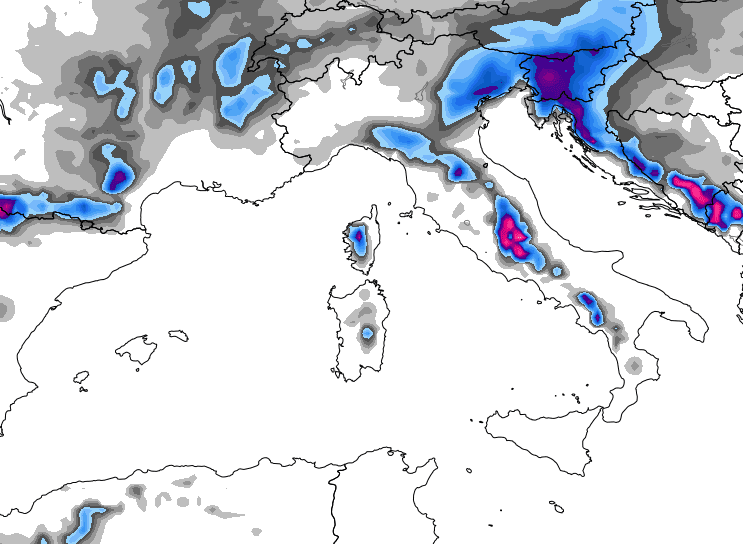Nevicate del 1° febbraio 2015