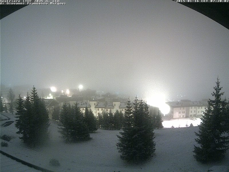 Sestriere (TO) - 2035 mt