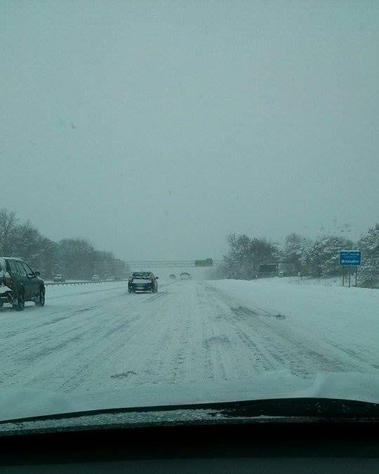 Giuseppe Miretto da Albany NY dove c'è stata una forte nevicata di intensità simile a quella attesa in alcune città del Nord Italia.