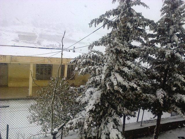 26 mar 15 Afra1 - Spagna e Nord Africa: le zone fredde del Marzo 2014.