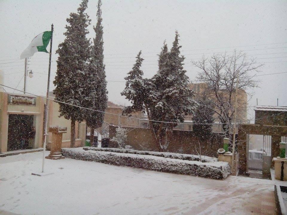 26 mar 15 afra2 - Nevica in Algeria, gelo sui monti del Sahara!