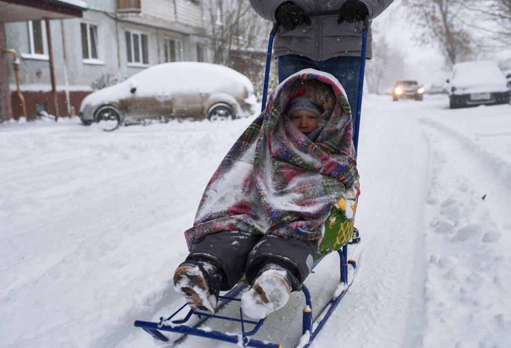 1407786 - Imponente ondata fredda sulla Siberia, evento precoce per il mese di Ottobre
