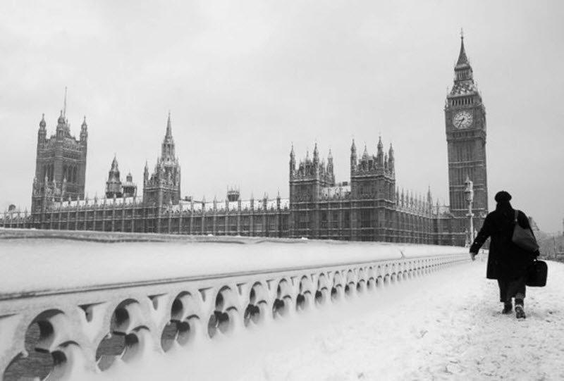 E' atteso un gelido inverno a Londra.