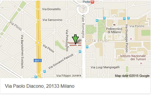 Freddofili è in Via Paolo Diacono, 20133 Milano