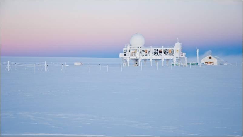 Stazione scientifica  GEOSummit.