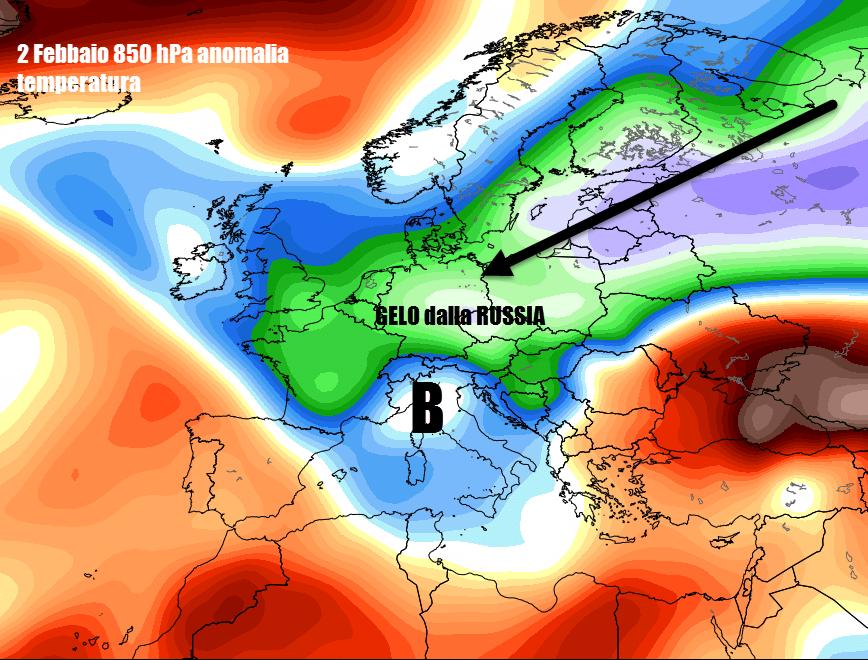 eps m t850a c eur 31 - Altro che ritorno dell'Inverno, a fine mese potrebbe venire il Burian