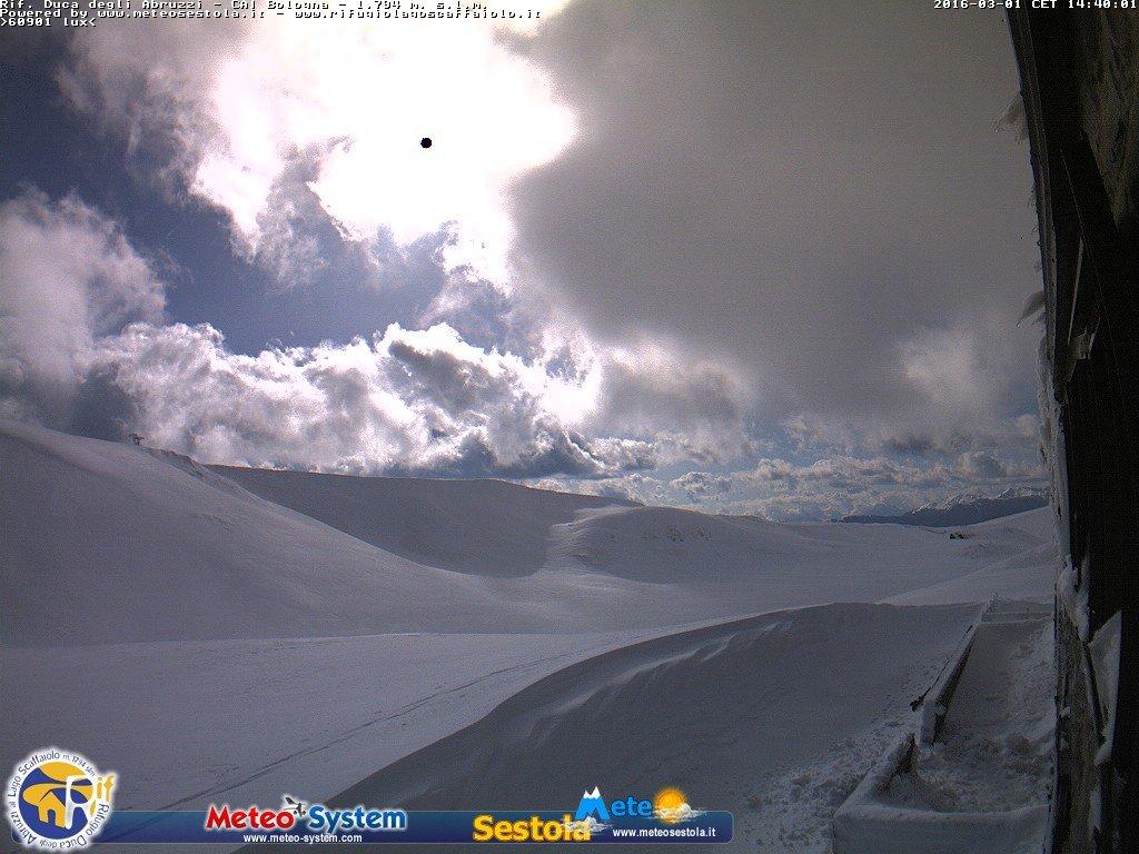 01 mar 16 lagoscaffaiolo - Neve fresca sull'Appennino: abbondante in quello settentrionale.
