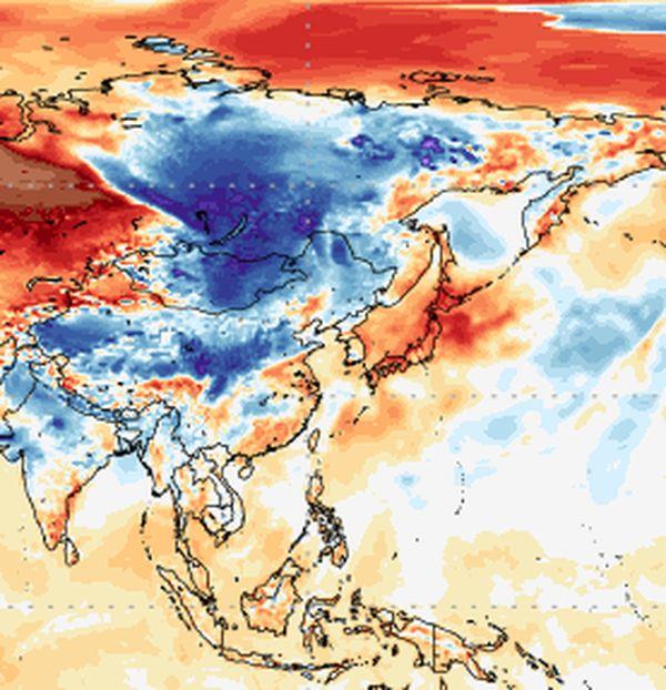 25 mag 16 ANOM2m f00 equir2 - Imponente ondata fredda sulla Siberia, evento precoce per il mese di Ottobre