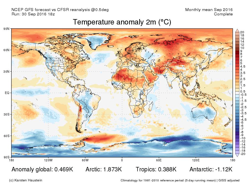 02 ott 16 ANOM2m CFSR GFS 1609 monthly equir - Comincia l'attacco dell'aria fredda al nostro Continente!
