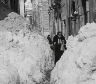 gelo 1956 1 - Puglia, Marzo 1987. La siberia in casa