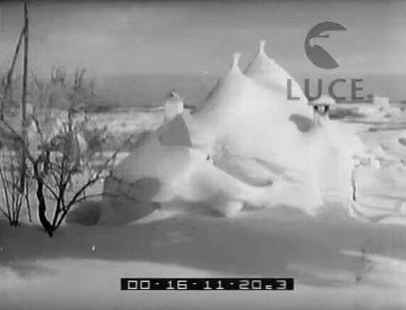 gelo 1956 - Puglia, Marzo 1987. La siberia in casa
