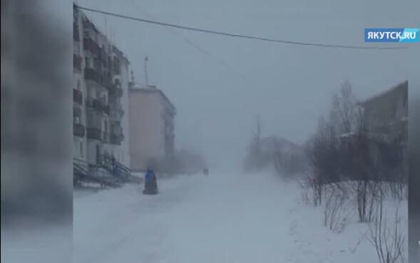 tempeste di neve - Imponente ondata fredda sulla Siberia, evento precoce per il mese di Ottobre