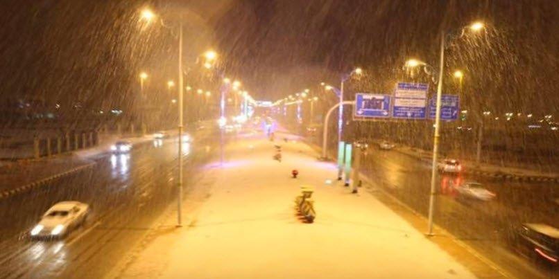 neve arabia saudita Tarif - Continuano le bufere di neve sull'Europa Settentrionale!