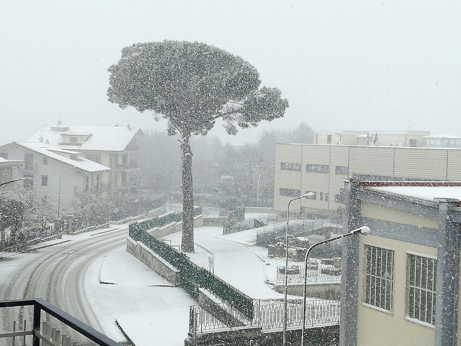 01 3 - Sardegna centrale, situazione grave. Spazzaneve bloccati. Questo è meteo estremo