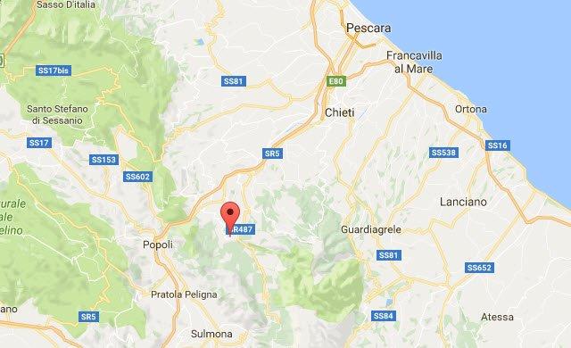 03 - Abruzzo, nevicata storica. Oltre due metri di neve a 400 metri