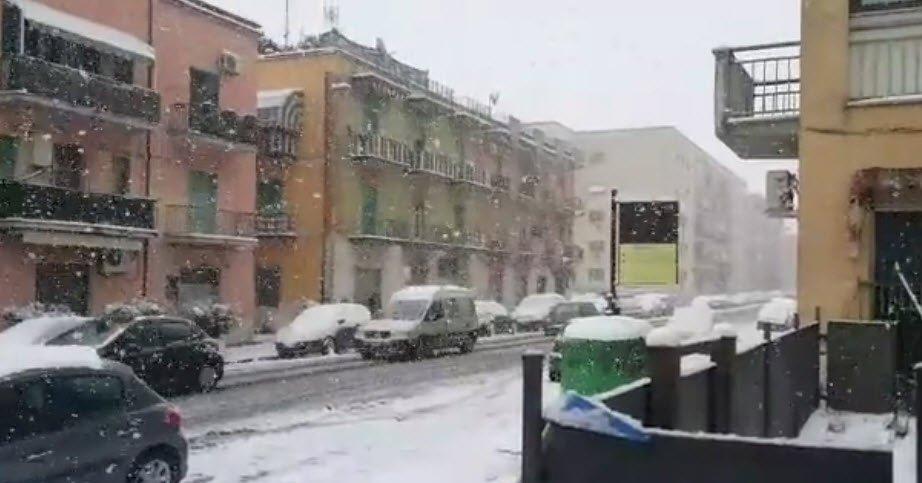 benevento neve 2017 - Neve deserto