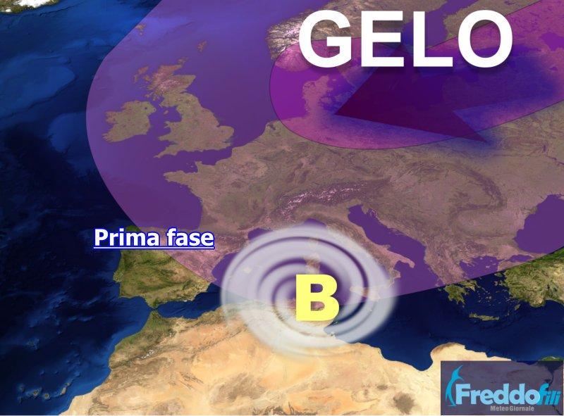 gelo europa e freddo italia 1 - Global Warming esiste, è una realtà conclamata