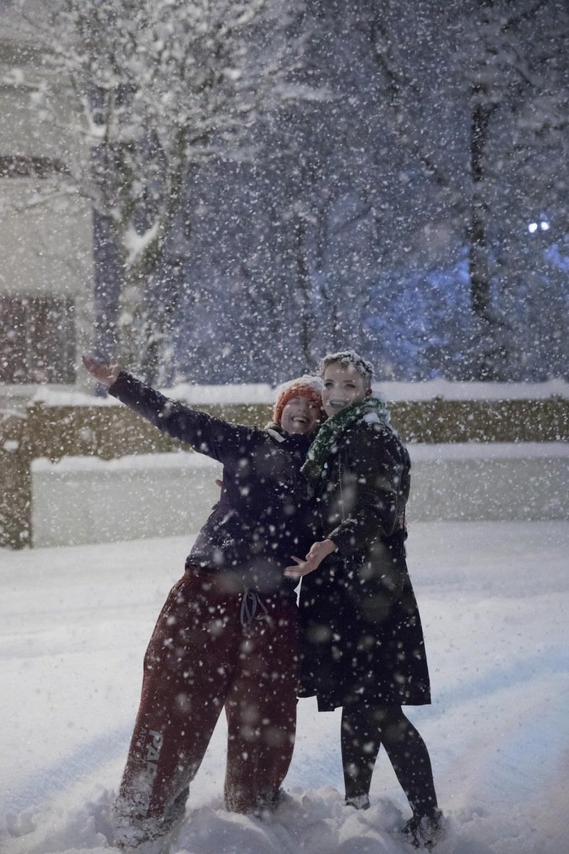 946200 - Reykjavik, inedite foto della nevicata da record