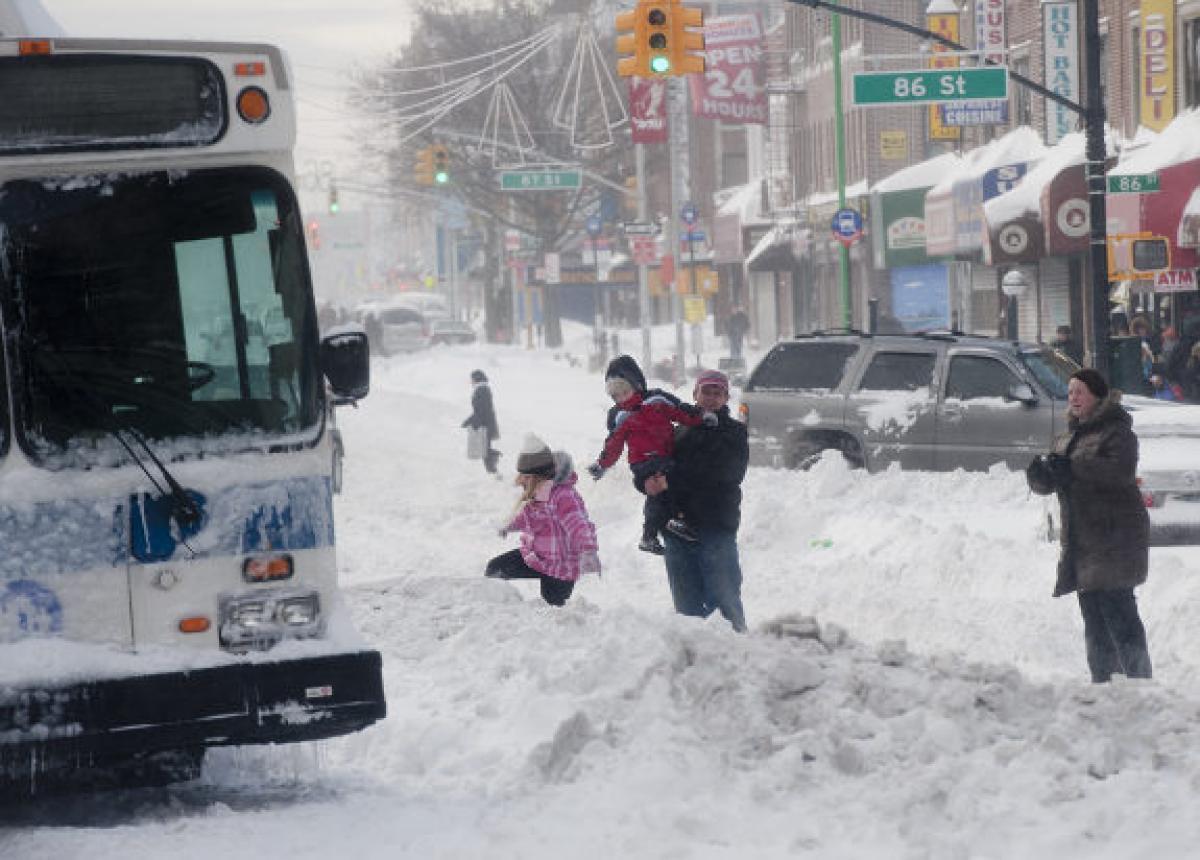 news york blizzard - Scandinavia dopo il gelo, meteo con tempeste di neve