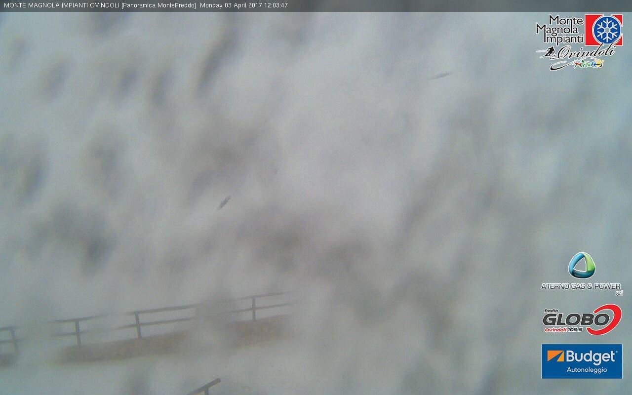 italia centrale neve 2 - Aria fresca in quota, nevica nei monti dell'Italia centrale