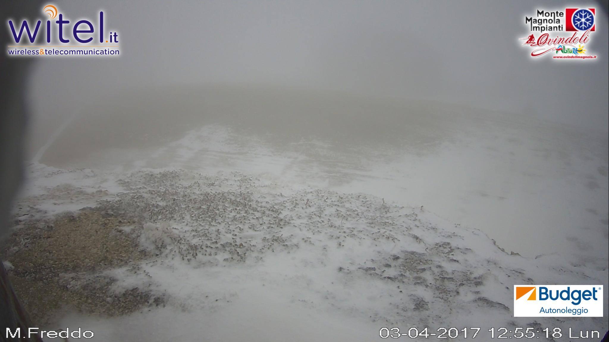 italia centrale neve 3 - Aria fresca in quota, nevica nei monti dell'Italia centrale