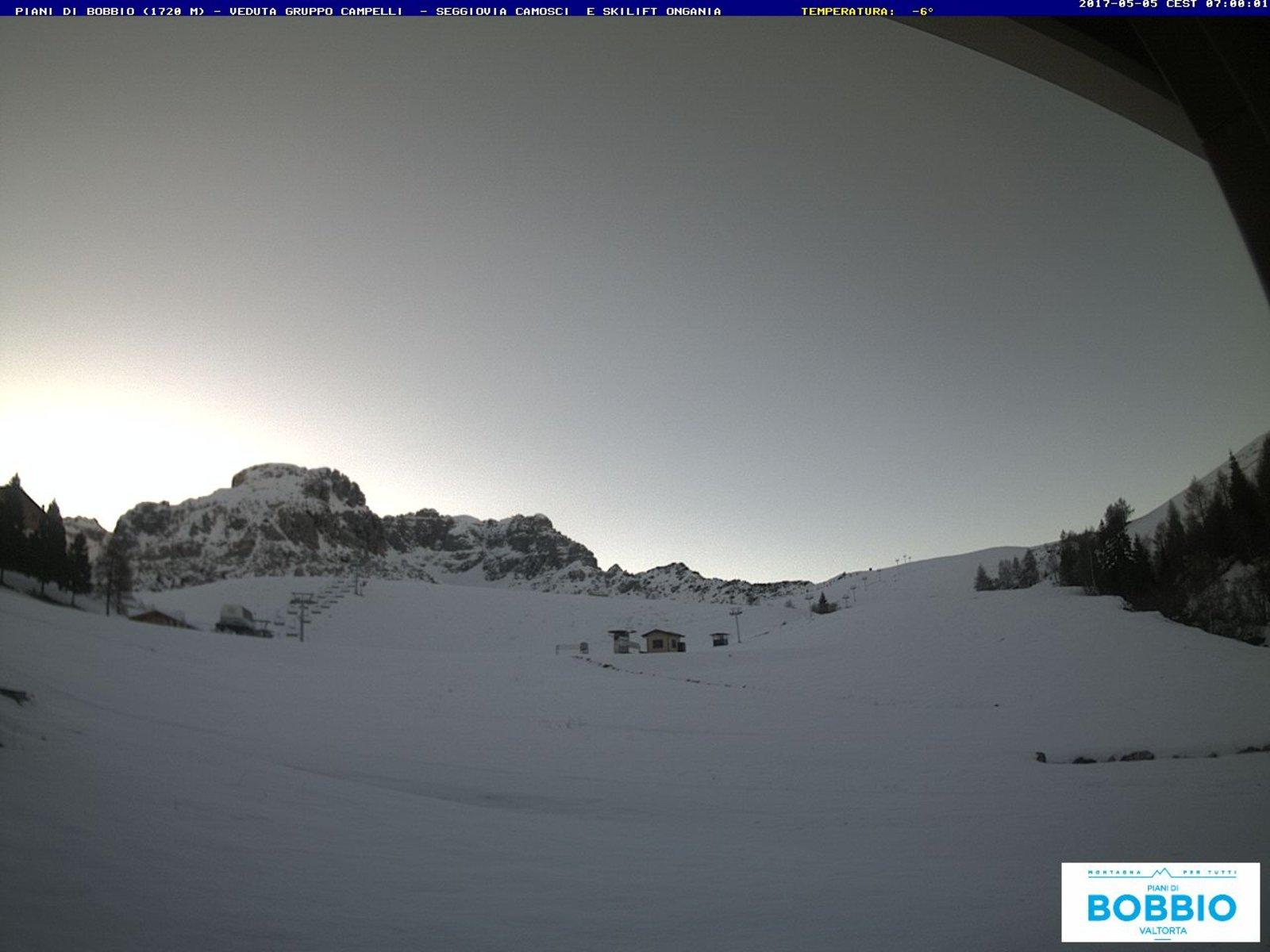 campelli1 800 - Neve di Maggio, la situazione stamattina in Valsassina in Lombardia