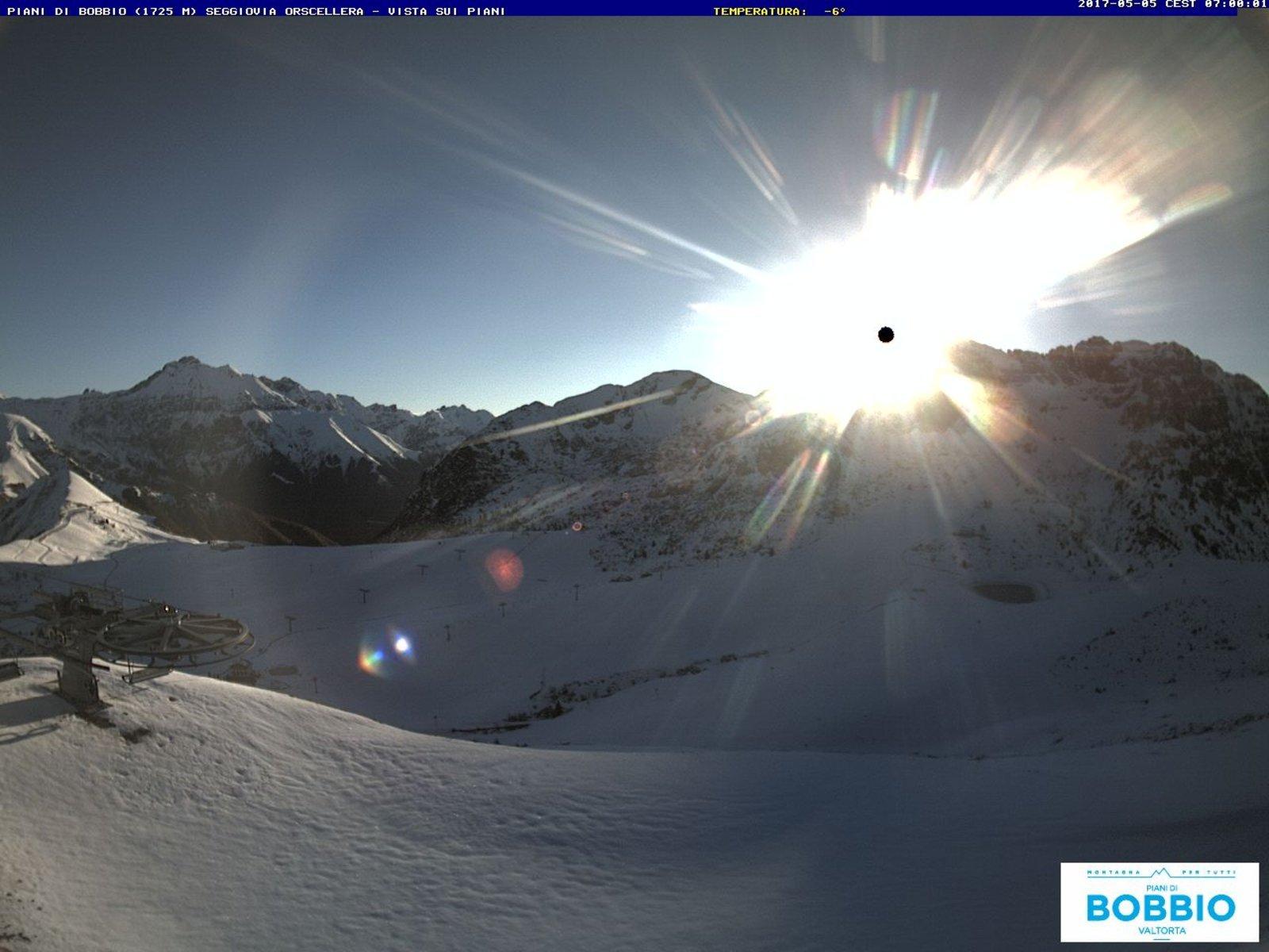 orscellera1 800 - Neve di Maggio, la situazione stamattina in Valsassina in Lombardia