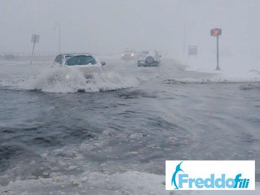 gelo infernale11 - Dalla pioggia torrenziale alla TEMPESTA di GHIACCIO in una NOTTE